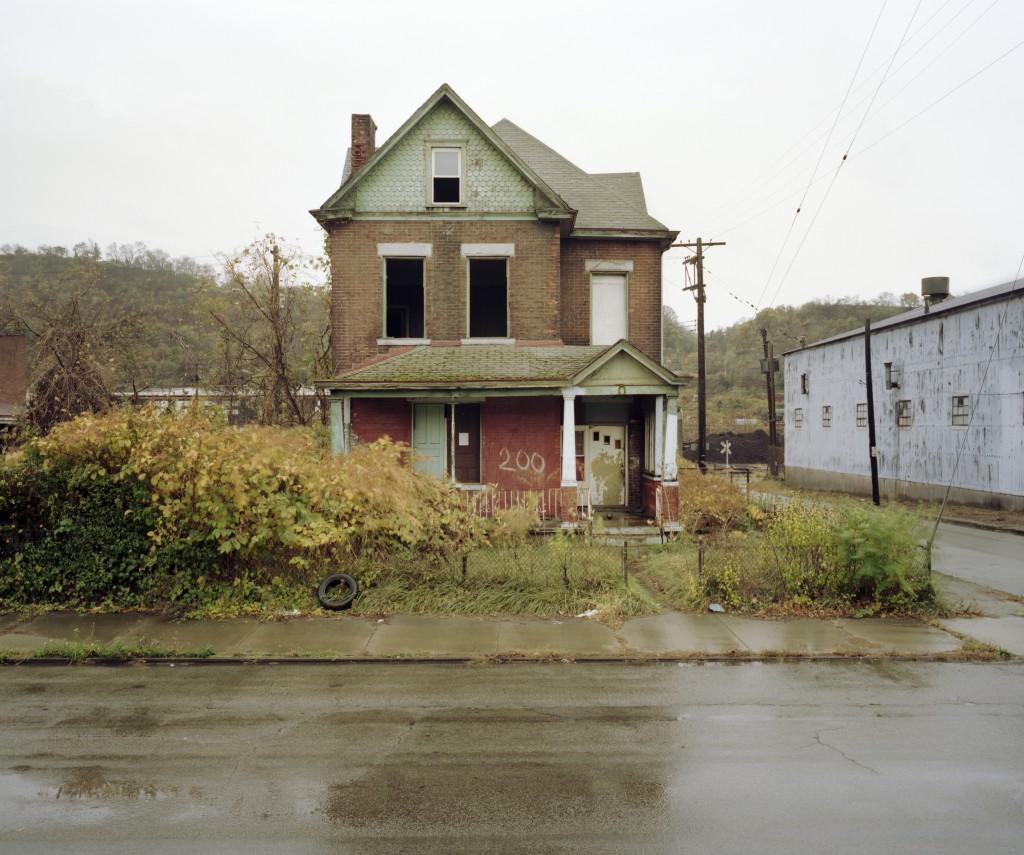 Abandoned Residence at 200 Talbot Ave., Braddock, PA, 2008.